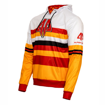 Alpha Prime Hoodie - Orange/Red