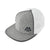 Alpha Prime Snapback Hat - 301SB-Grey/White