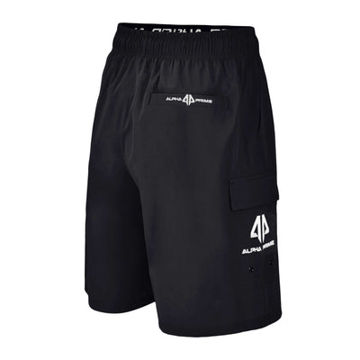 Alpha Prime Microfiber Shorts - Black