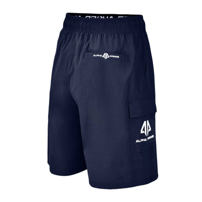 Alpha Prime Microfiber Shorts – Navy Blue