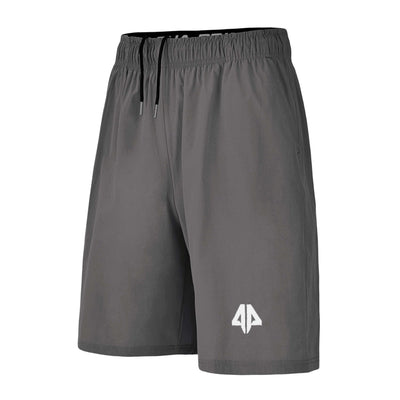 Alpha Prime Microfiber Shorts – Charcoal Grey