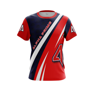 Alpha Prime Full Dye Jersey - Red White & Blue