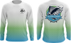 Alpha Prime Full Dye Jersey - Prime Fishing Mahi Scale