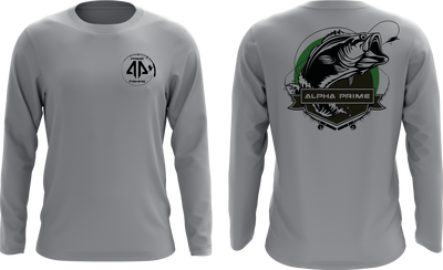 Prime Fishing Bass Long Sleeve Shirt