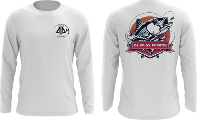 Prime Fishing Snapper Long Sleeve Shirt