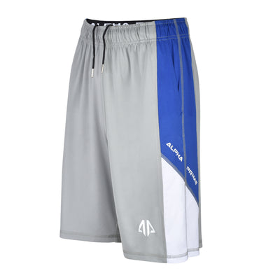 Training Lightweight Shorts – Grey & Blue