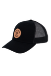 AP Circle Patch Snapback Hat - 112RCHCP-Black/Black