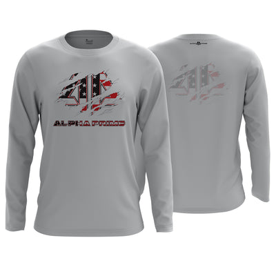 Alpha Prime Brand Long Sleeve Shirt v4