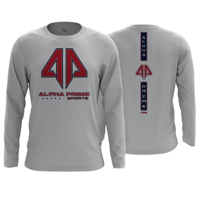 Alpha Prime Brand Long Sleeve Shirt v6