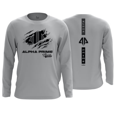 Alpha Prime Brand Long Sleeve Shirt v7