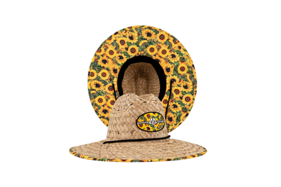 AP Straw Hat-Wild Sunflower