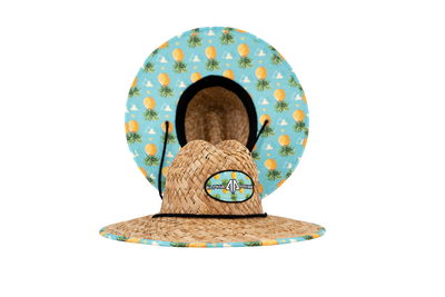 AP Straw Hat-Tropical Pineapple