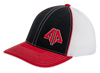 Alpha Prime Series 2 Fitted Hat - 101FPAC-Red/Black/White