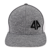 Alpha Prime Series 2 Snapback Hat - 301SPAC-Heather Grey/White