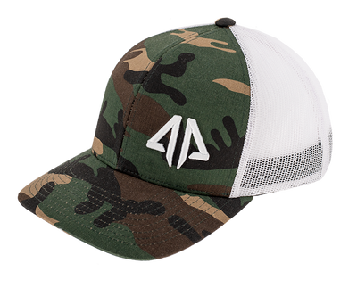 Alpha Prime Series 2 Snapback Hat - 301SPAC-Camo/White