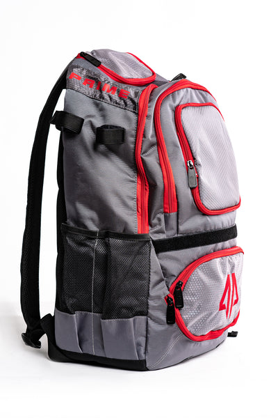 Prime Series II Bat Backpack - Grey/Red