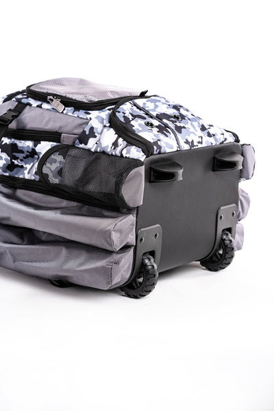 Prime Series II Roller Bat Backpack - White/Camo