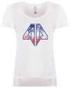 AP Red, White & Blue Women's Scoop Neck Tee