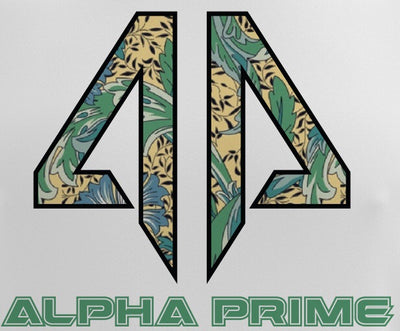 Alpha Prime - Grandmas Curtains Spot Dye & Face Guard Combo-Short Sleeve