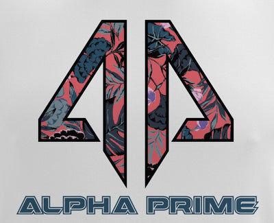 Alpha Prime - Tropical Pink Spot Dye & Face Guard Combo-Short Sleeve