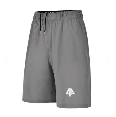 Alpha Prime Microfiber Shorts – Light Grey