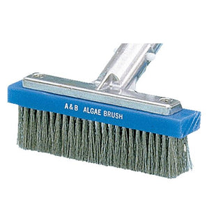 "5"" SS Bristle Straight Aluminum Algae Brush"