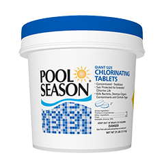 "Chlorine Tablets, 25Lbs 3"" Giant PSN (Save additional $8.00 cash back.  Limited time offer.  We submit the form.  You receive the $8.00 in the mail. Final Cost $71.95) Limit one per person."