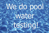 FREE Pool/Spa Water Test with delivery of your order