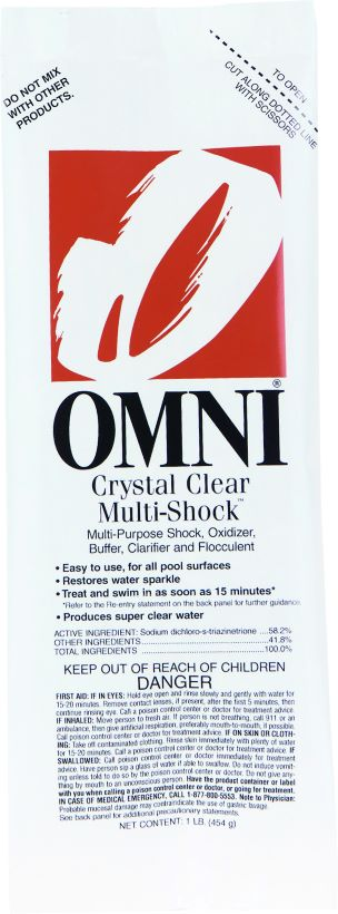 Shock, Multi-Crystal Clear
