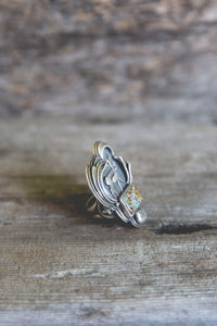 Sage Runner Ring -- Size 6.25