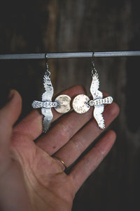 Hawk Shadow Earrings
