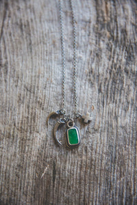 Within Reach Necklace -- With Chrysoprase