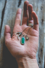 Load image into Gallery viewer, Within Reach Necklace -- With Chrysoprase*
