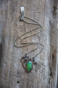 Within Reach Necklace -- With Chrysoprase*