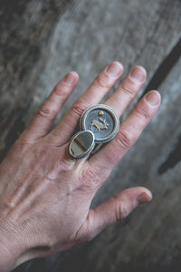 Saint Wapiti Ring -- Size 7.5
