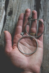 Zephyr Hoop Earrings