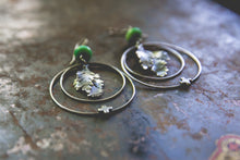 Load image into Gallery viewer, Beauty and Blight Earrings -- One Of A Kind