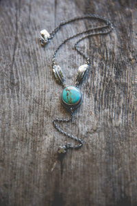 Echo Of Flight Lariat Necklace