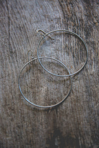 City Girl Hoop Earrings