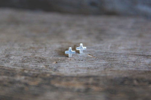 Light Burden Post Earrings -- Small