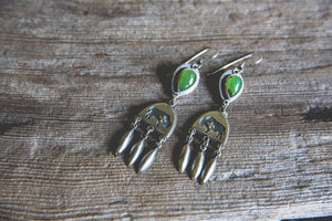 Custer Earrings