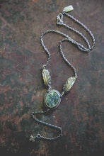 Load image into Gallery viewer, Echo of Flight Lariat Necklace -- Cheyenne Variscite