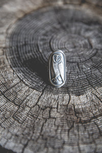 Feather And Prayer Ring