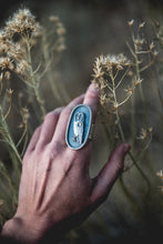 Load image into Gallery viewer, Size 8.5 -- Feather And Prayer Ring