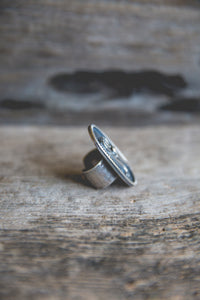 Size 8.5 -- Feather And Prayer Ring