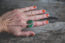Load image into Gallery viewer, Size 7.75 Double Stone-- Hope Ring
