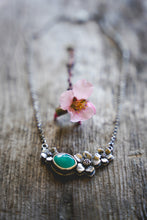 Load image into Gallery viewer, Apple Blossom Necklace -- Turquoise