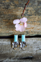 Load image into Gallery viewer, Apple Blossom Posts -- Turquoise