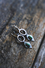 Load image into Gallery viewer, Diamond Sage Earrings
