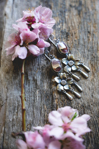 Apple Blossom Earrings -- Agua Nueva
